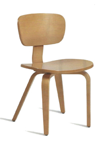 Zap dining chair in oak