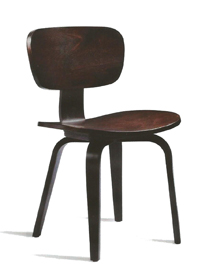Zap dining chair in wenge