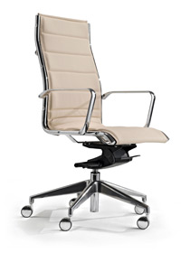 Milani Comet high backed executive chair