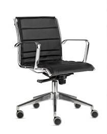 Milani Comet low back desk chair