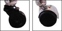 Different types of castors