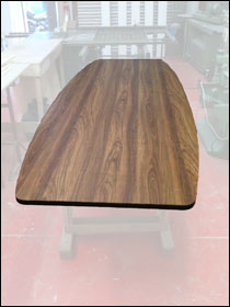 Walnut top available to order
