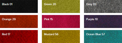 Steijer lounge chair cashmere colour options
