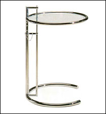 Eileen Gray height-adjustable side table