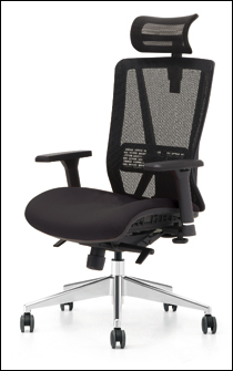 Jammy office chair in black
