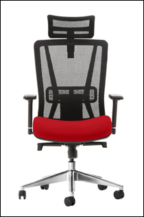 Jammy office chair in red