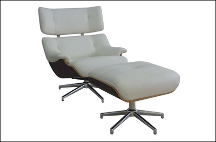Model 216 Lounge chair and ottoman