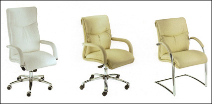 Milani collection - three styles of Sally chair