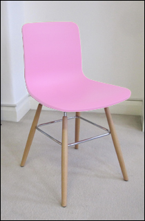 Sophie chair in pink