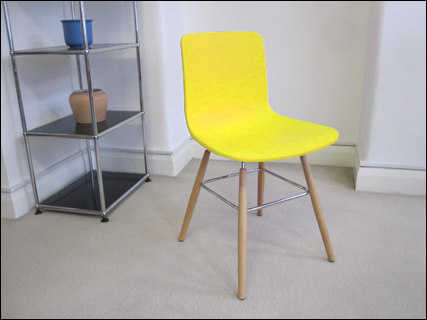 Sophie chair in yellow