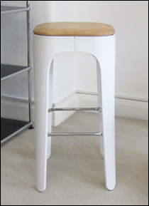 Two-tier bar stool