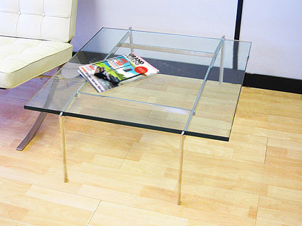 Cubis 88 glass coffee table