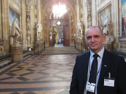 Scott Appleton at the House of Lords