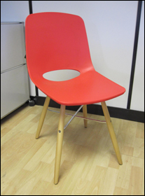 Red Ooland chair