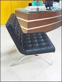 Seville chair used in reception area