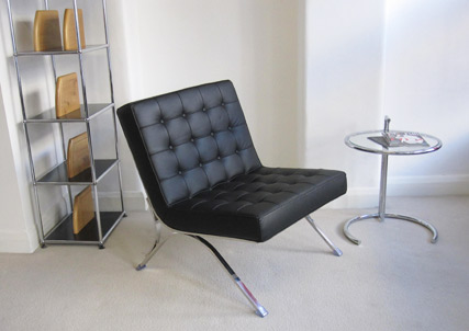 Seville chair in the Scott Howard London showroom