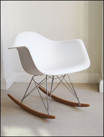 Vitra RAR chair in white